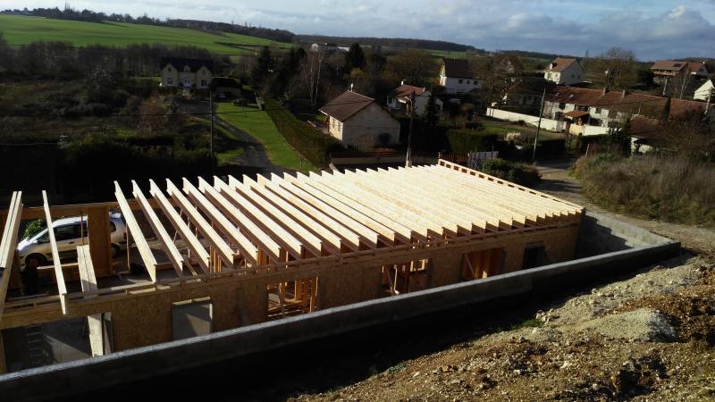Structure toit terrasse